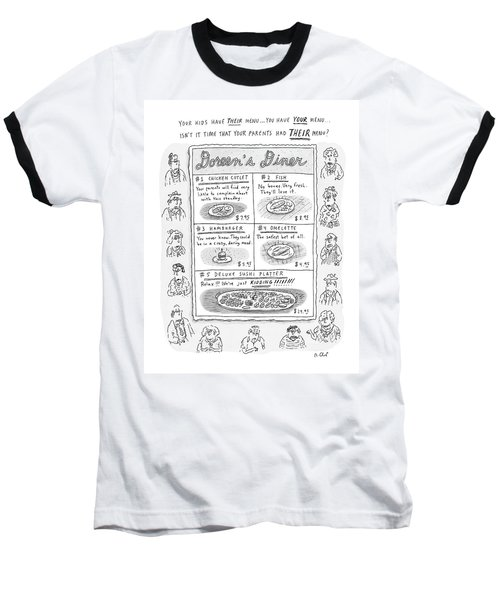 Doreen's Diner Baseball T-Shirt