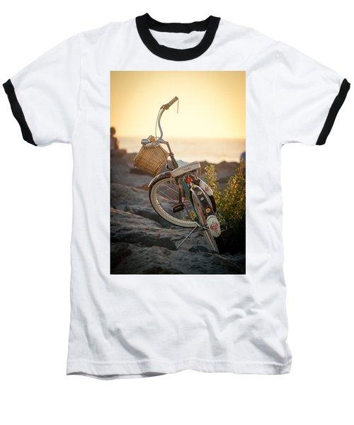 A Bike And Chi Baseball T-Shirt