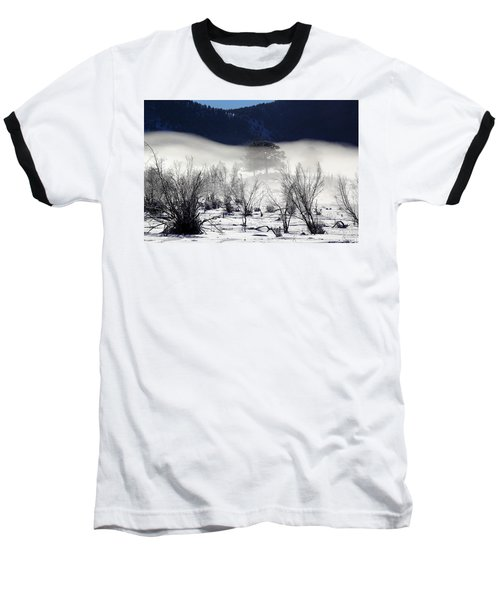 A Blanket Of Fog Baseball T-Shirt