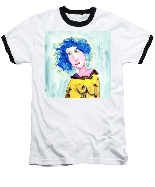 A Blue Day Baseball T-Shirt