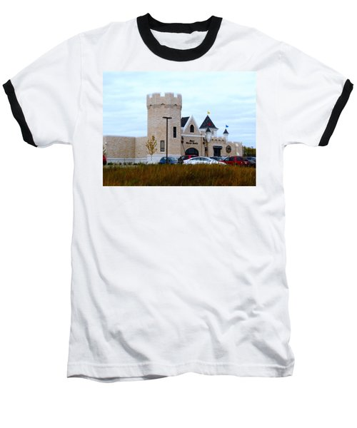 A Cheese Castle Baseball T-Shirt