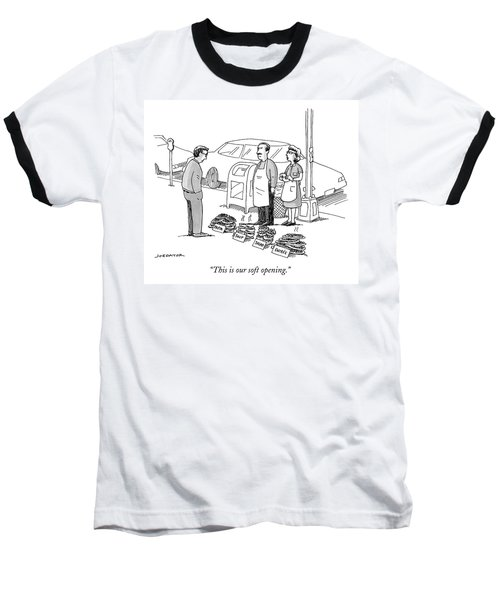 This Is Our Soft Opening Baseball T-Shirt