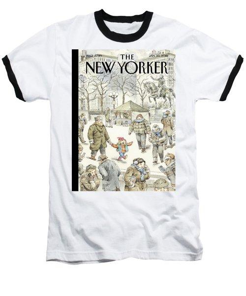 Winter Delight Baseball T-Shirt