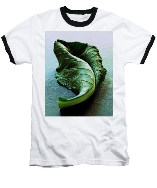 A Collard Leaf Baseball T-Shirt