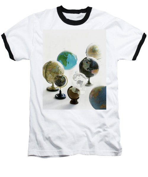 A Collection Of Globes Baseball T-Shirt