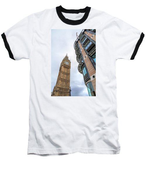 Baseball T-Shirt featuring the photograph A Corner In London by Tim Stanley