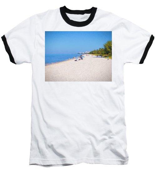 A Day At Naples Beach Baseball T-Shirt