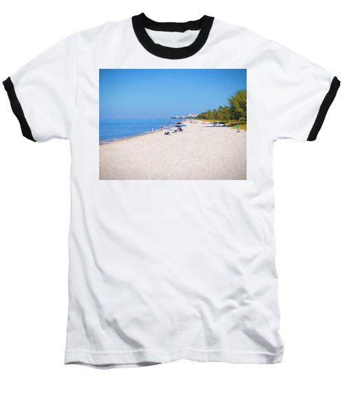 A Day At Naples Beach Baseball T-Shirt