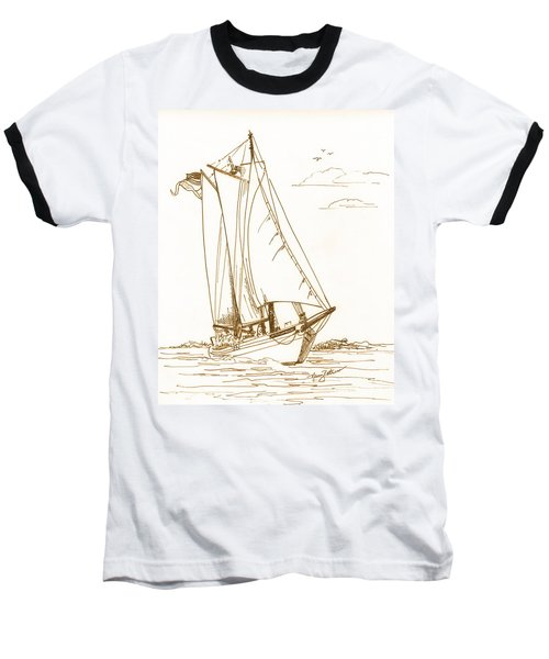 A Day On The Bay Baseball T-Shirt