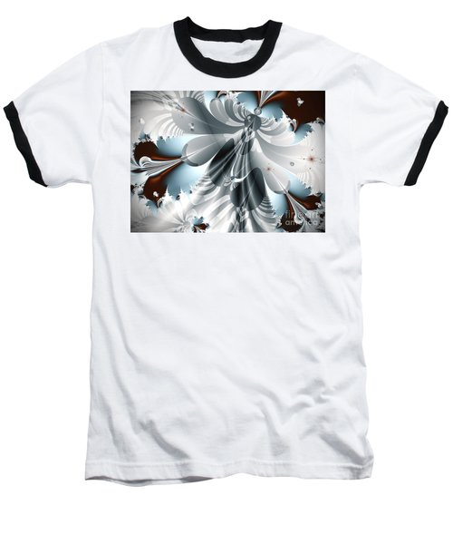 A Deeper Reflection Abstract Art Prints Baseball T-Shirt