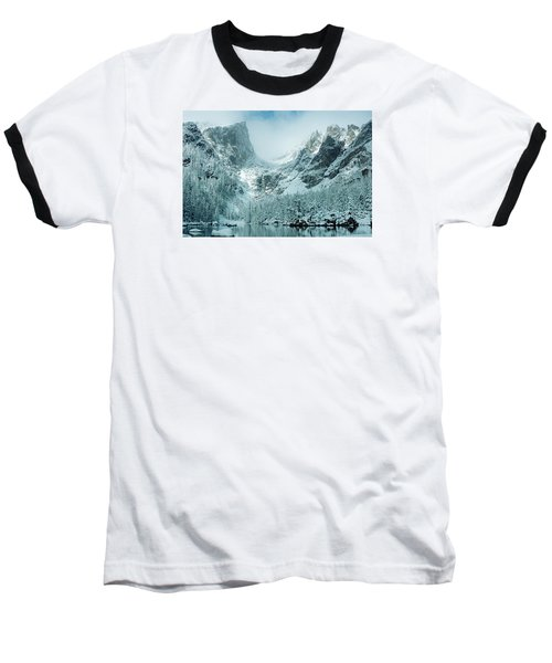 A Dream At Dream Lake Baseball T-Shirt by Eric Glaser