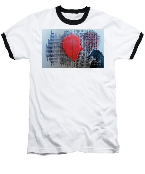 A Glance Of The Wind Baseball T-Shirt