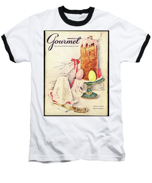 A Gourmet Cover Of A Cake Baseball T-Shirt