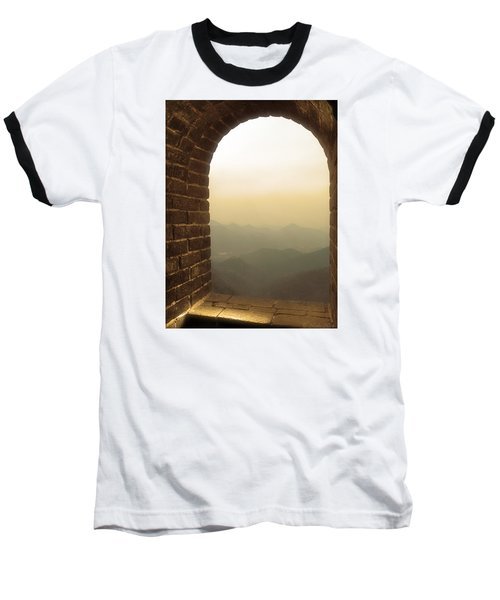 A Great View Of China Baseball T-Shirt by Nicola Nobile
