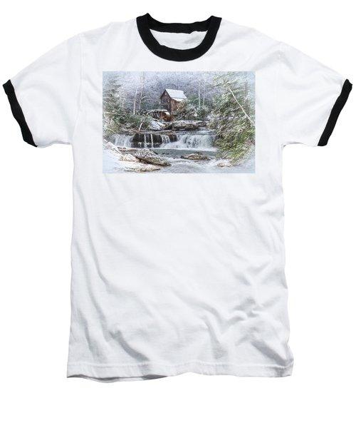 A Gristmill Christmas Baseball T-Shirt