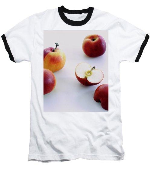A Group Of Apples Baseball T-Shirt