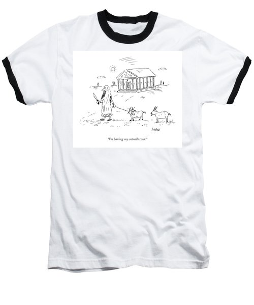 A Lamb Says To Another Baseball T-Shirt
