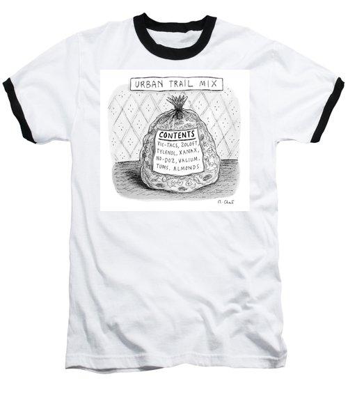 Urban Trail Mix Baseball T-Shirt