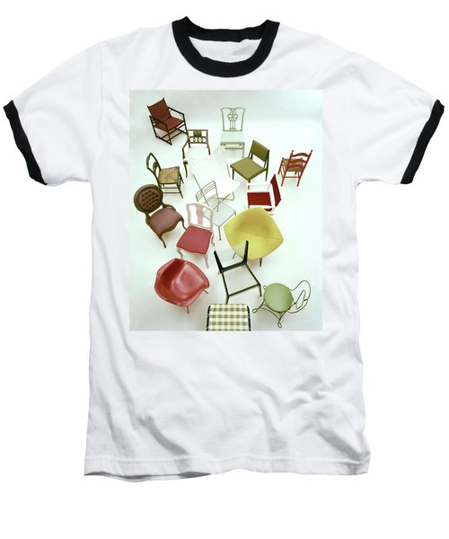 A Large Group Of Chairs Baseball T-Shirt