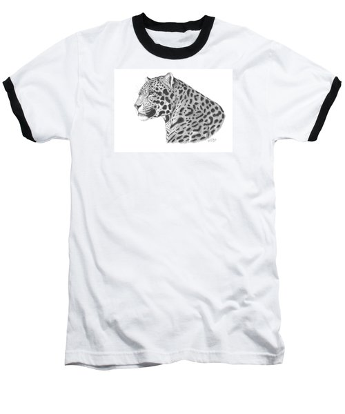 A Leopard's Watchful Eye Baseball T-Shirt