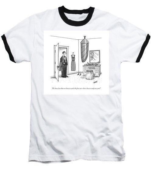 A Man In A Tuxedo Baseball T-Shirt