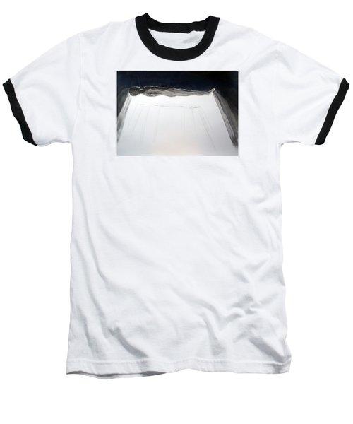 A Momentary Lapse Of Reason Baseball T-Shirt by Lazaro Hurtado