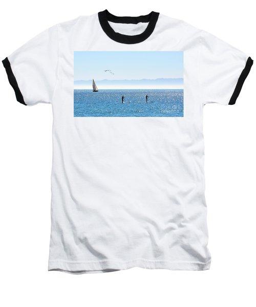 A Perfect Santa Barbara Day Baseball T-Shirt