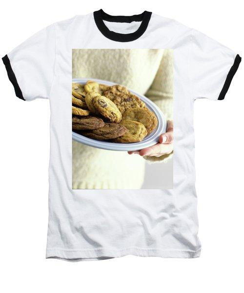 A Plate Of Cookies Baseball T-Shirt