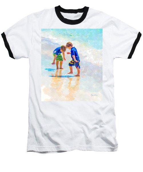 A Summer To Remember Iv Baseball T-Shirt by Susan Molnar