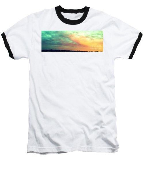 A Sunset Baseball T-Shirt