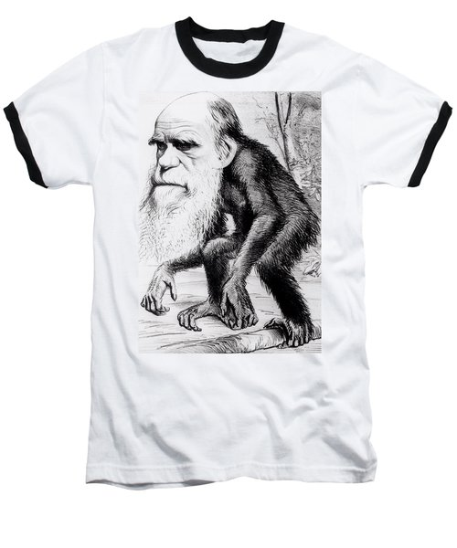 A Venerable Orang Outang Baseball T-Shirt by English School