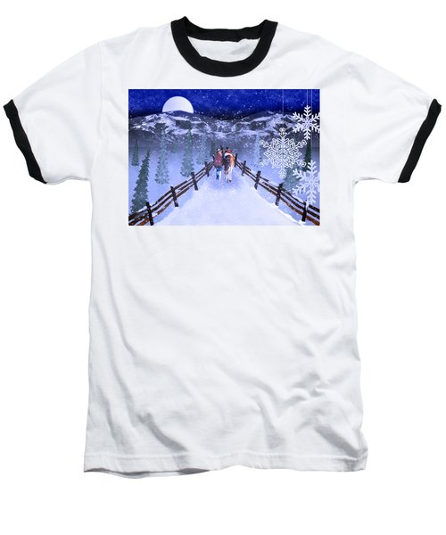 A Walk In The Snow 2 Baseball T-Shirt