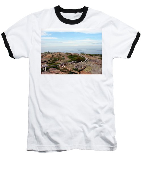 Baseball T-Shirt featuring the photograph A Walk On The Mountain by Judith Morris