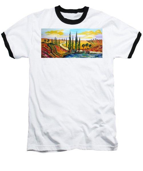 A Warm Day Under The Tuscan Sun Baseball T-Shirt