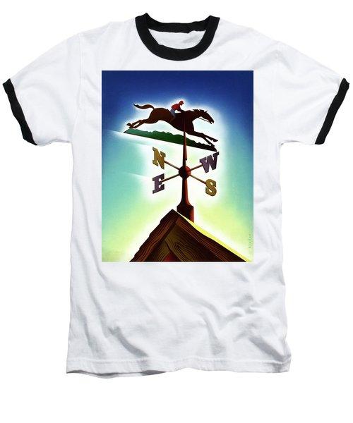 A Weather Vane Baseball T-Shirt