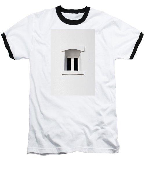 A Window In White Baseball T-Shirt