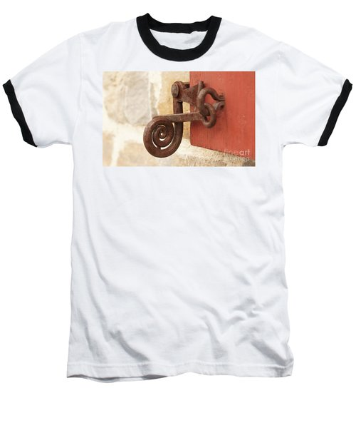 A Window Latch Baseball T-Shirt