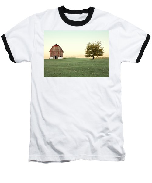 A Wisconsin Postcard Baseball T-Shirt