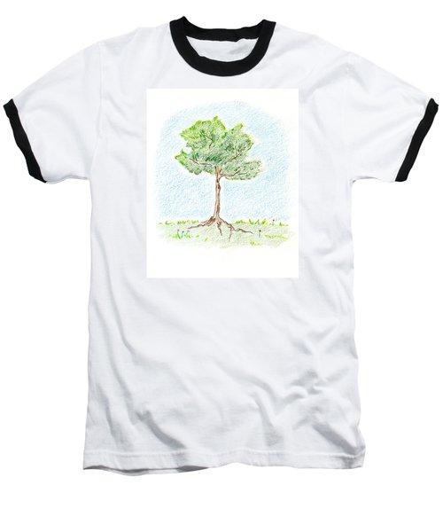 A Young Tree Baseball T-Shirt