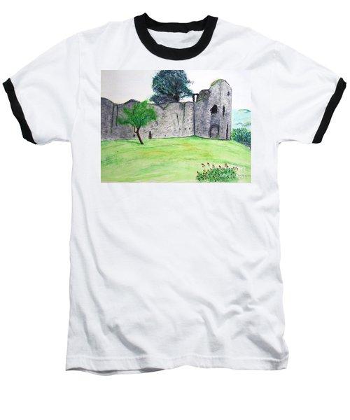Abergavenny Castle Baseball T-Shirt
