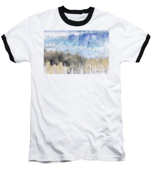 Abstract Marsh  Baseball T-Shirt