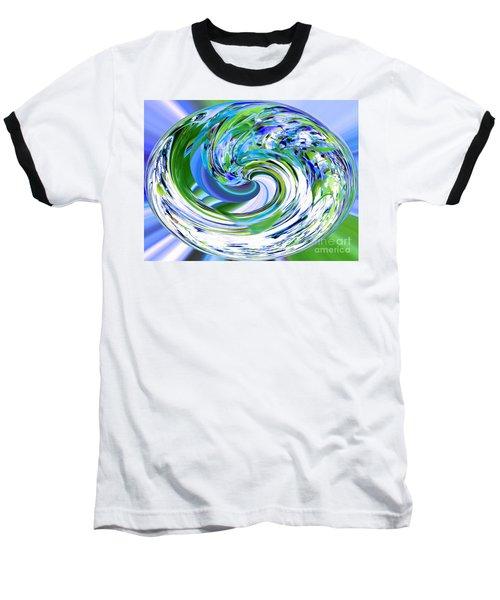 Abstract Reflections Digital Art #3 Baseball T-Shirt