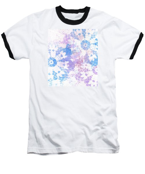 Abstract Vintage Lace Baseball T-Shirt