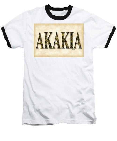 Acacia - Parchment Baseball T-Shirt