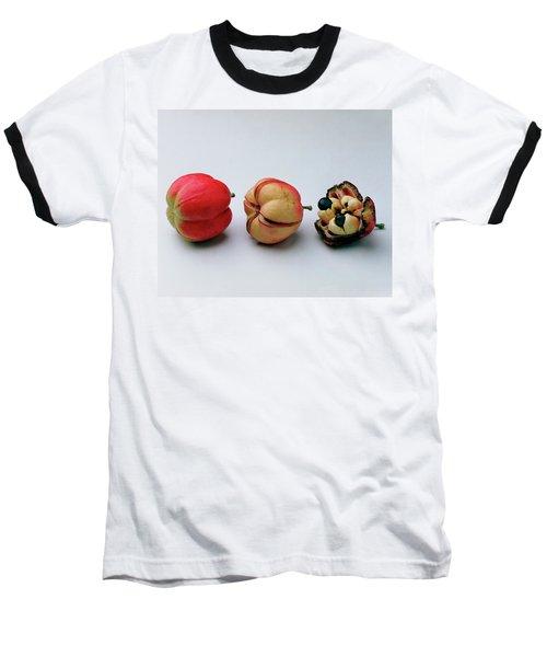 Ackee Fruit Development Baseball T-Shirt