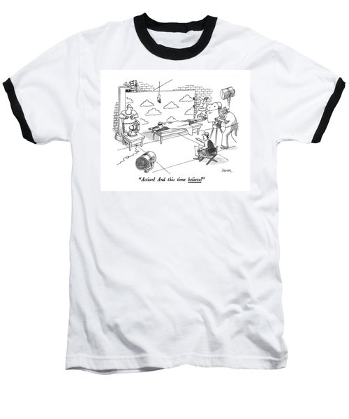 Action! And This Time Believe! Baseball T-Shirt
