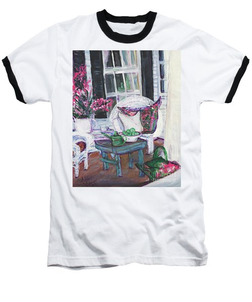 Afternoon At Emmaline's Front Porch Baseball T-Shirt