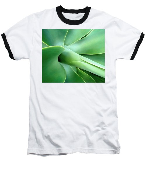 Agave Heart Baseball T-Shirt by Peter Mooyman