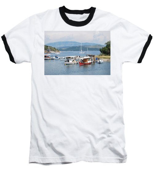 Agios Stefanos Baseball T-Shirt