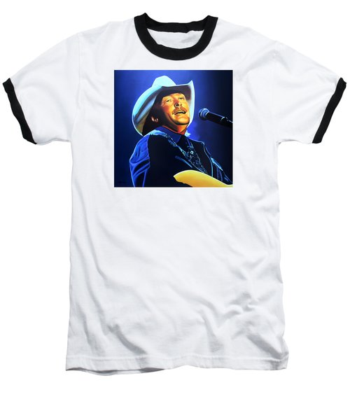 Alan Jackson Painting Baseball T-Shirt